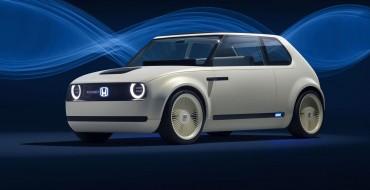 Honda Reveals Delightfully Futuristic Retro Urban EV Concept at Frankfurt Auto Show