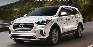 Hyundai Displays New 2018 Models with Hope on Wheels Paint Job