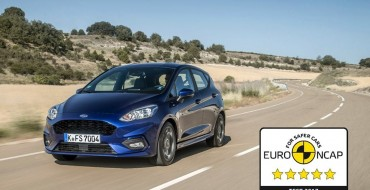 New Ford Fiesta Earns Five Stars in Euro NCAP Crash Testing