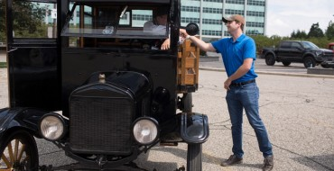 Ford Employees Get Chance to Experience Model TT Rides Around Headquarters
