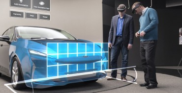 Ford Testing Microsoft Hololens Technology Globally for More Intuitive Design Development