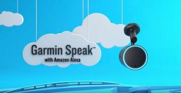 Garmin's Speak Integrates Amazon Alexa to Provide In-Car Navigation
