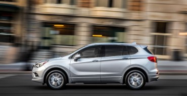 "Buick Envision Attained ""Top Safety Pick"" Status from IIHS"