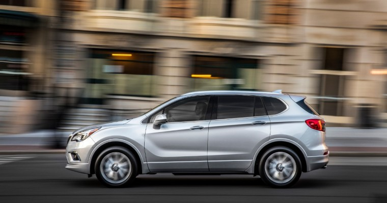 """Buick Envision Attained """"Top Safety Pick"""" Status from IIHS"""