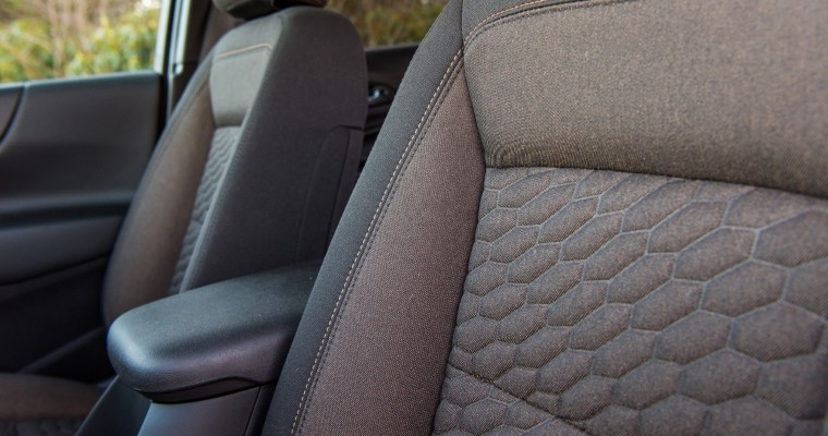 Fear Not, Parents: 2018 Chevy Equinox Offered with Stain-, Scuff-Resistant Seating