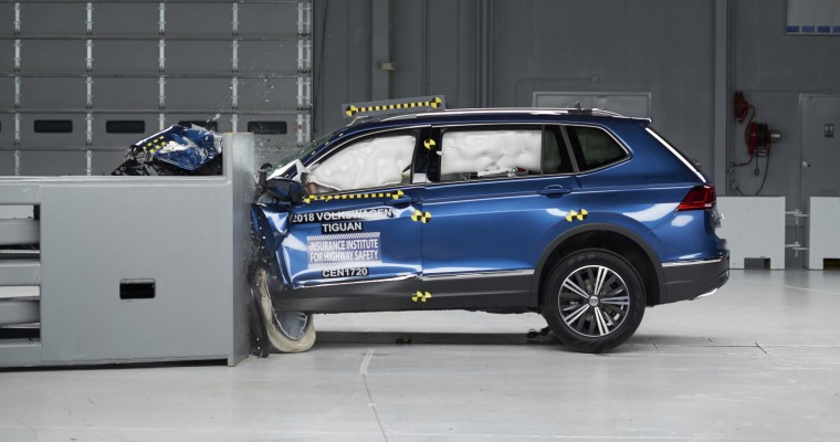 IIHSA Says 2018 Volkswagen Tiguan is Tops in Safety