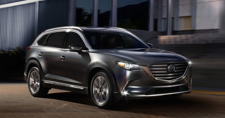 2018 Mazda CX-9 Earns Top Safety Ratings from NHTSA