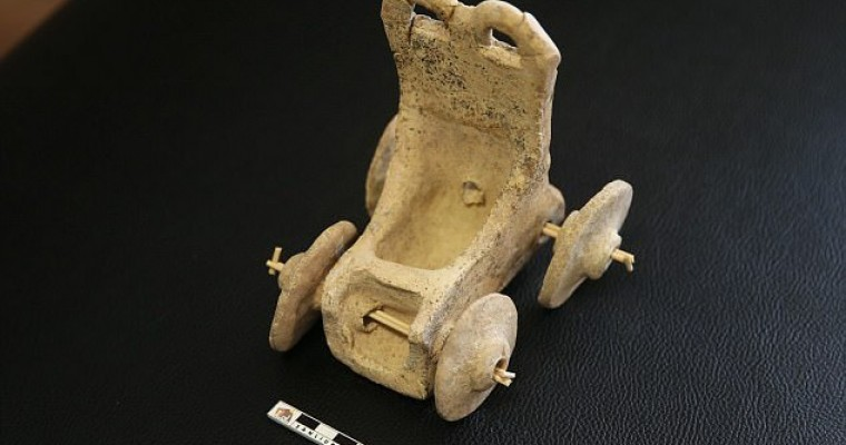 Even 5,000 Years Ago, Kids Were Playing With Toy Cars (or Chariots, Whichever)