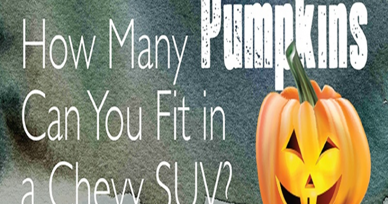 Infographic: How Many Pumpkins Can You Fit in a Chevy SUV?