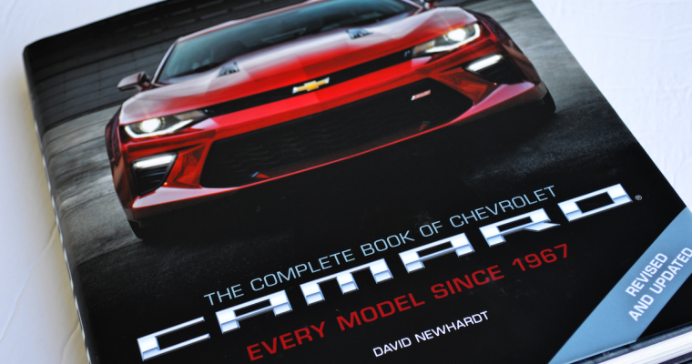 """Book Review: """"The Complete Book of Chevrolet Camaro"""" by David Newhardt"""