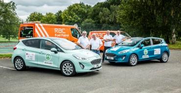 Ford Fiesta, Ranger Nab Three Top Awards at UK's MPG Marathon