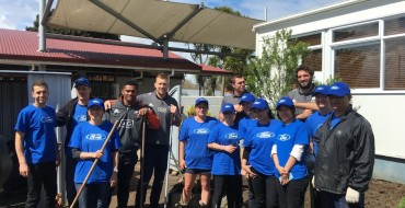 Ford Global Caring Month Leads to Key Projects in New Zealand, Korea, India