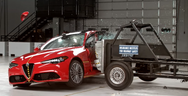 2017 Alfa Romeo Giulia Earns IIHS Top Safety Pick+ Rating
