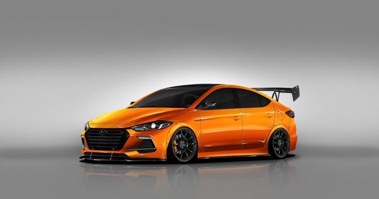 Hyundai SEMA News: BTR Edition Elantra Sport Not to Be Missed