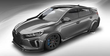 Hyundai SEMA News: HyperEconiq Ioniq Concept Exceeds 80 MPG