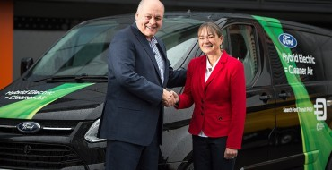 Jim Hackett and Sarah-Jayne Williams Open Ford Smart Mobility Innovation Office in London
