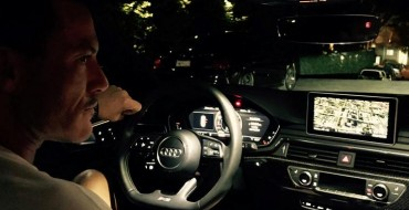 Luke Evans Goes For a Spin with Audi in LA