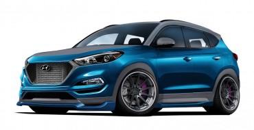 Vaccar Equips Custom Hyundai Tucson Sport with Cutting-Edge Features for SEMA