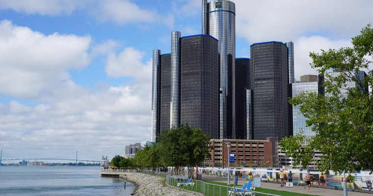 New Bridge Connecting Detroit with Canada Begins Construction
