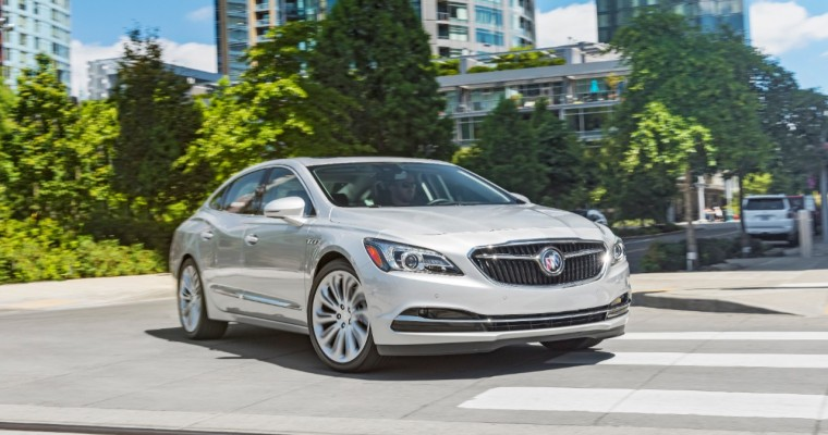 Buick LaCrosse Conquers Large Car Competitors in the 2018 J.D. Power Vehicle Dependability Study