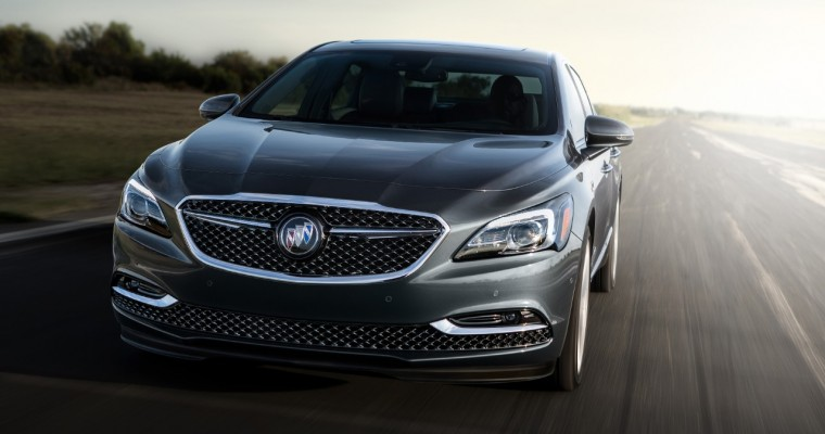 2018 Buick LaCrosse Avenir Will Start at $45,795; $47,995 with AWD