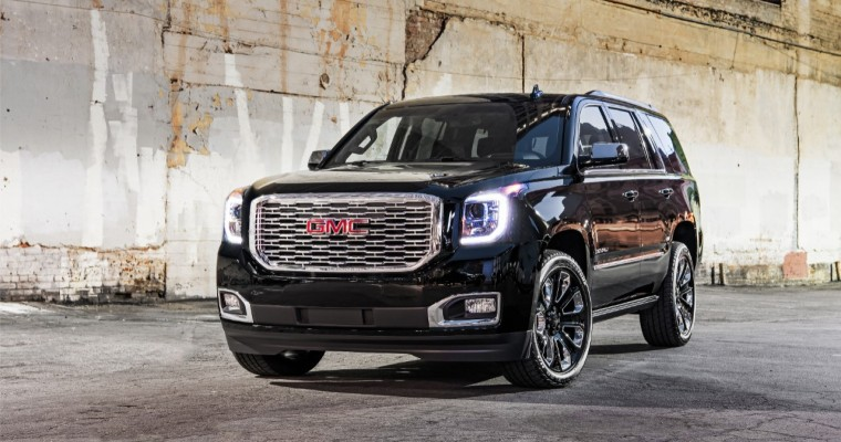 [Photos] 2018 GMC Yukon Denali Ultimate Black Edition Bows in L.A. (Spoilers: It's Only Available in Black)
