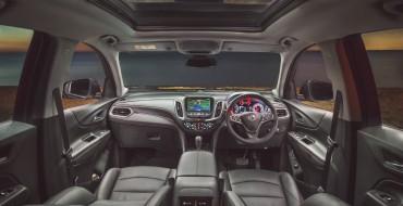 New Holden Equinox Scores Five Stars from Australasian New Car Assessment Program