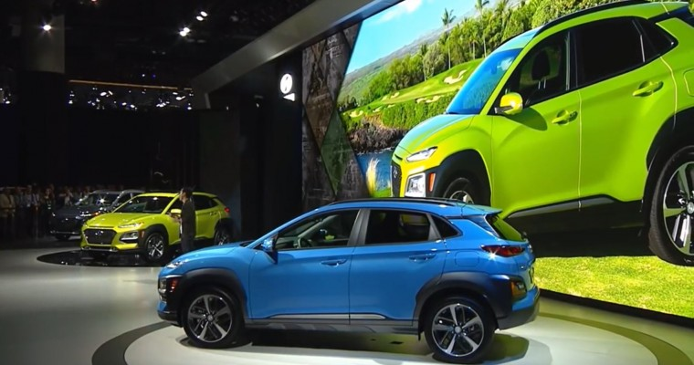 Hyundai Expands Lineup with Debut of New Kona Crossover at LA Auto Show