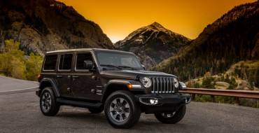 FCA Releases First Official Images of the 2018 Jeep Wrangler