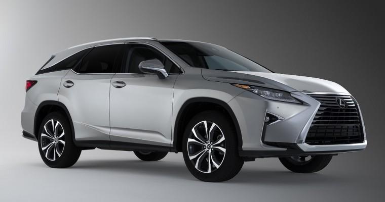 Lexus Reveals Three-Row RX L Model at LA Auto Show