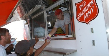 The Salvation Army Offers Free Meals With Their Food Truck
