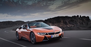 BMW Reveals the i8 Roadster Model at the L.A. Auto Show