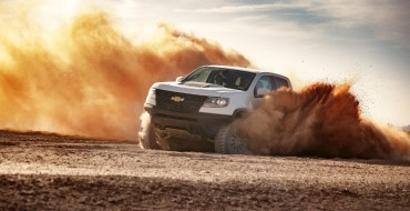 [Photos] Chevrolet Unveils Colorado ZR2 AEV Concept and ZR2 Race Development Truck