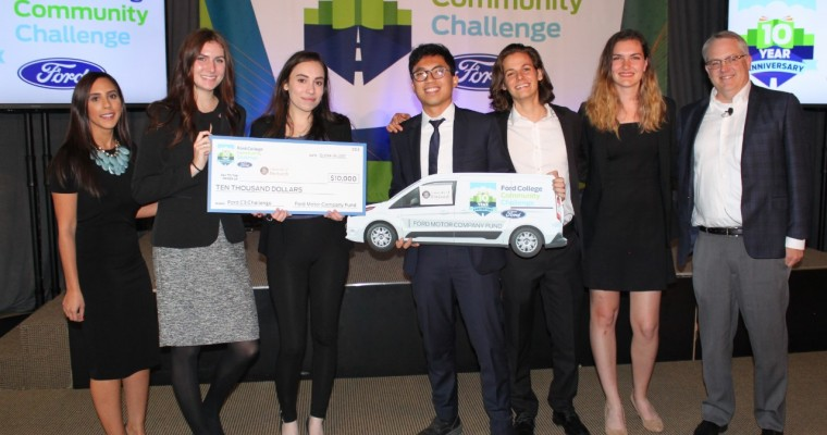 "University of Pittsburgh Team Wins Ford C3 ""Making Lives Better by Changing the Way People Move"" Challenge"