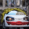 Cars.com Decorated a Chrysler Pacifica as the Joker for Halloween