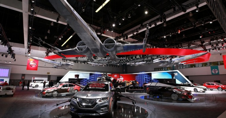 Nissan's Booth At The LA Auto Show Is A 'Star Wars' Paradise