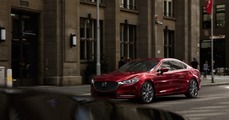[PHOTOS] As Promised, Mazda Reveals New, Redesigned Mazda6 at LA Auto Show