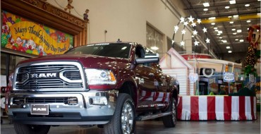 Ram Named the Official Truck of the Macy's Thanksgiving Day Parade for a Third Consecutive Year