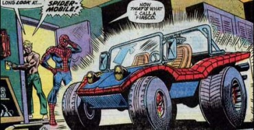 5 Wackiest Cars from Superhero Comic Books