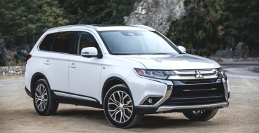 2018 Mitsubishi Outlander Earns IIHS Top Safety Pick