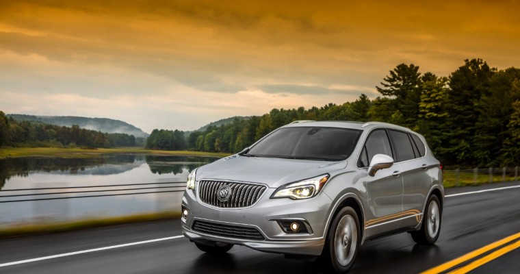 Buick's SUVs Boost Retail Sales Throughout 2017, Including December