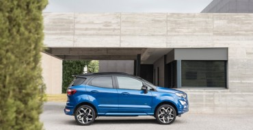 New Ford EcoSport Adds Intelligent AWD, EcoBlue Diesel Engine, ST-Line Trim for Europe