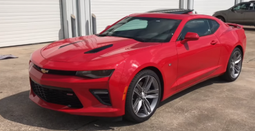 Camaro Driver Blames Hot Wings for Speeding