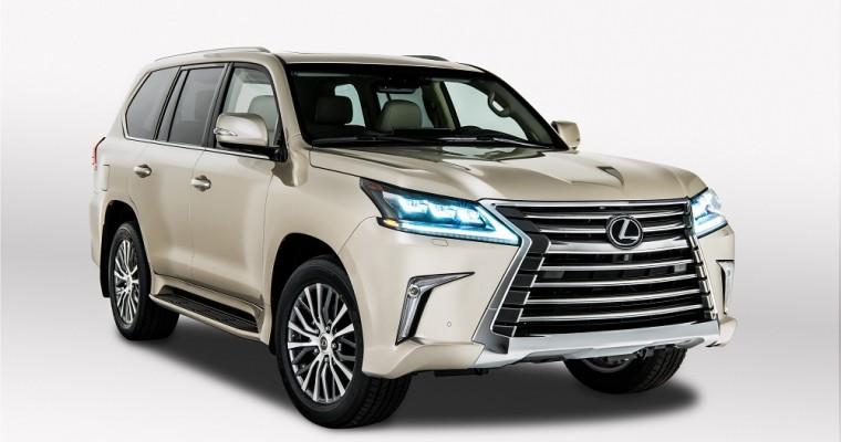 Lexus Brings Two-Row LX Model to LA Auto Show