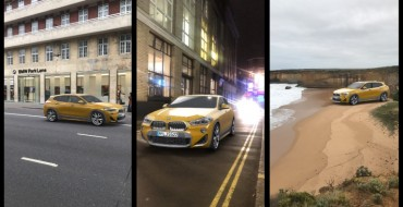 BMW Showcases the Upcoming BMW X2 Using Snapchat