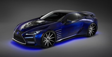 """Lexus and Marvel Partnership Results in a Concept Car Inspired by """"Black Panther"""""""