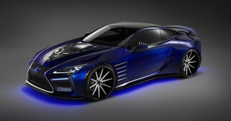 "Lexus and Marvel Partnership Results in a Concept Car Inspired by ""Black Panther"""