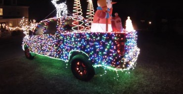 GM Engineers Confirm That Holiday Decorations for Your Car Reduce Mileage