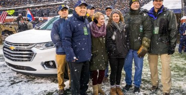Chevrolet Honors Military Caregivers During the Annual Army-Navy Game