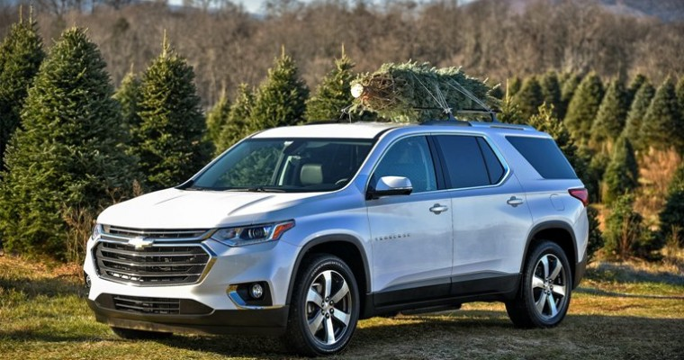 Chevy SUV Sales Increase as Passenger Car Sales Decrease During First Sales Month of 2018